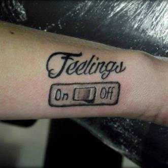 Feelings Tattoo